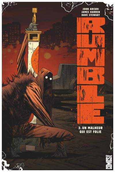 Couverture Rumble tome 2