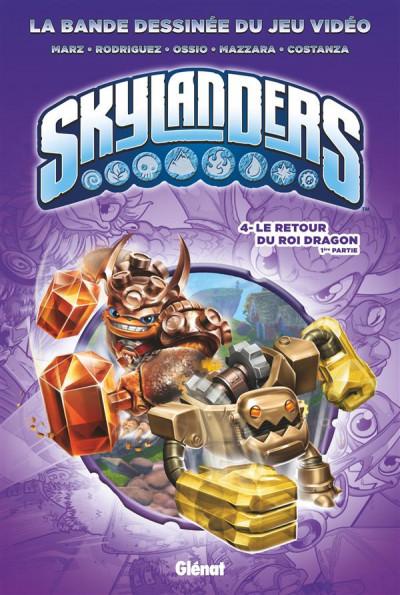 Couverture Skylanders tome 4