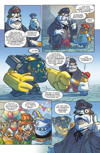 Page 1 Skylanders tome 4