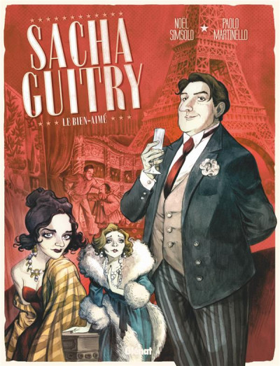 Couverture Sacha Guitry tome 1