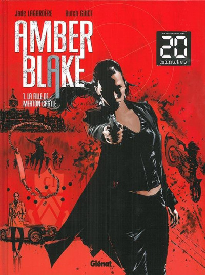 Couverture Amber Blake tome 1