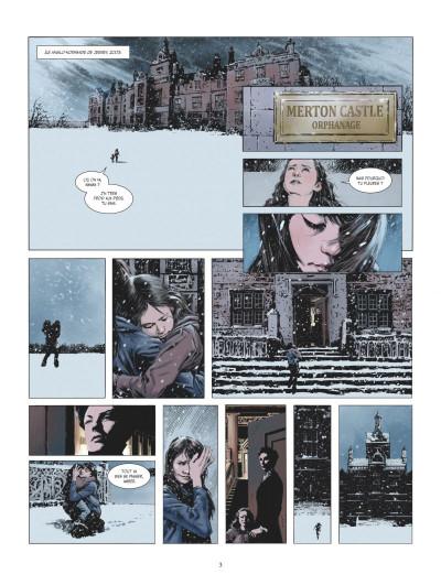 Page 1 Amber Blake tome 1