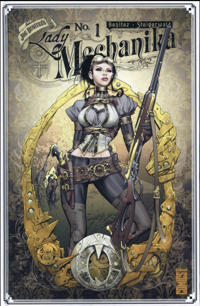 Couverture Lady mechanika tome 1