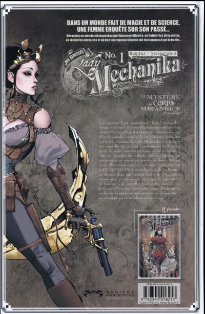 Dos Lady mechanika tome 1
