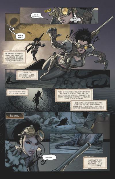 Page 3 Lady mechanika tome 1
