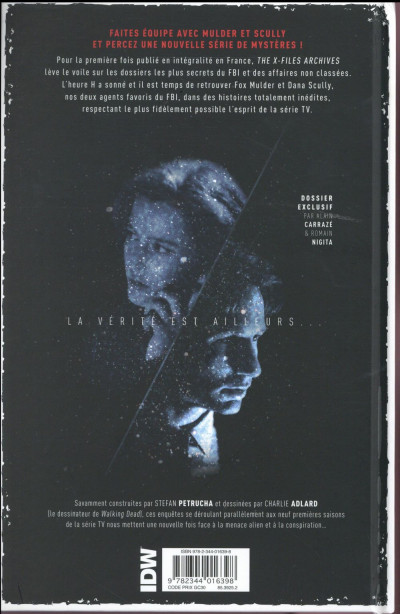 Dos The x-files archives tome 1