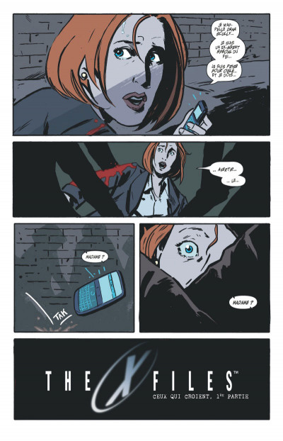 Page 3 The x-files tome 1