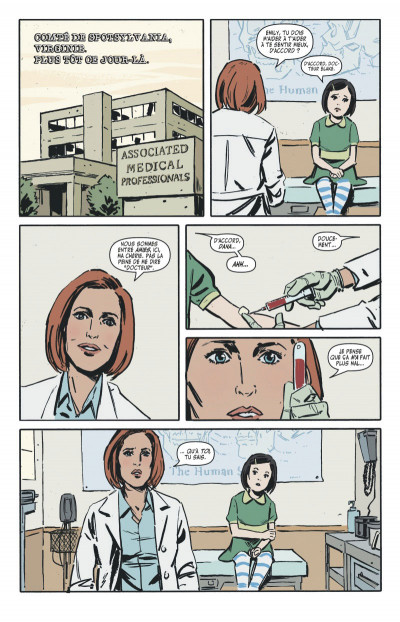 Page 4 The x-files tome 1