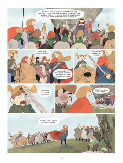 Page 0 Bergères guerrières tome 1