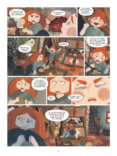 Page 3 Bergères guerrières tome 1