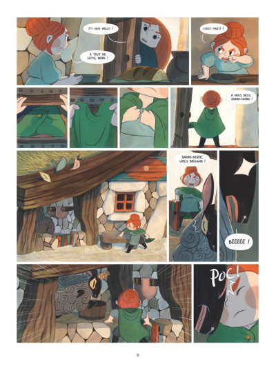 Page 4 Bergères guerrières tome 1