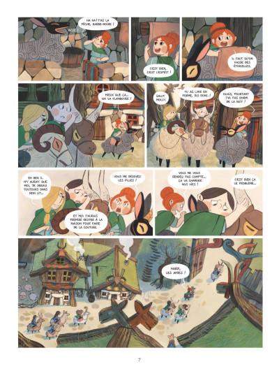 Page 5 Bergères guerrières tome 1
