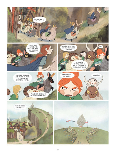 Page 6 Bergères guerrières tome 1