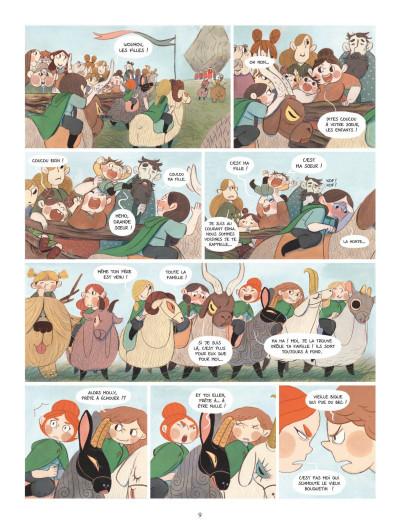 Page 7 Bergères guerrières tome 1