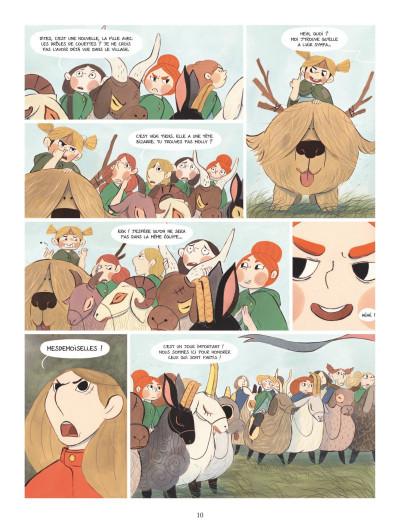 Page 8 Bergères guerrières tome 1