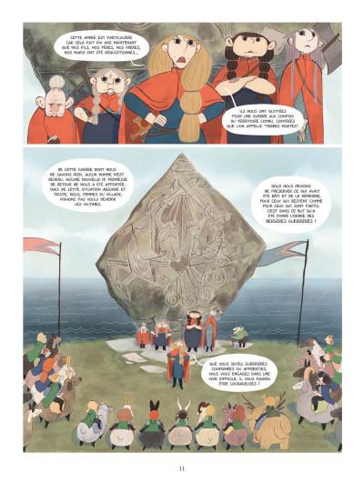 Page 9 Bergères guerrières tome 1