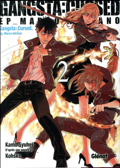 Couverture Gangsta cursed tome 2