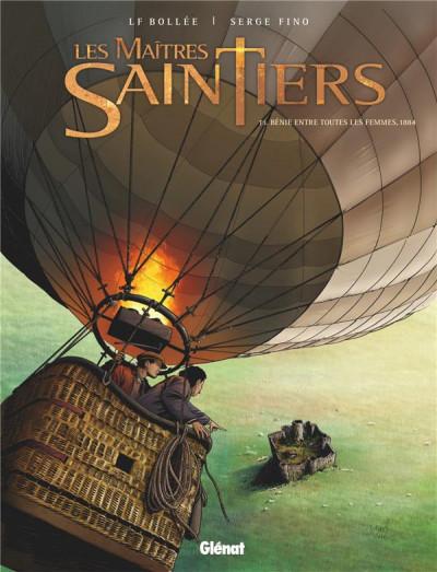 Couverture Les maîtres-saintiers tome 3