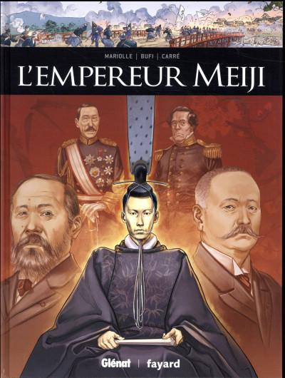 Couverture L'empereur Meiji
