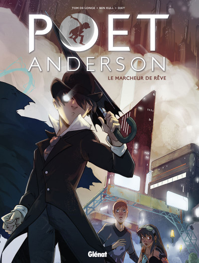 Couverture Poet Anderson - The dream walker