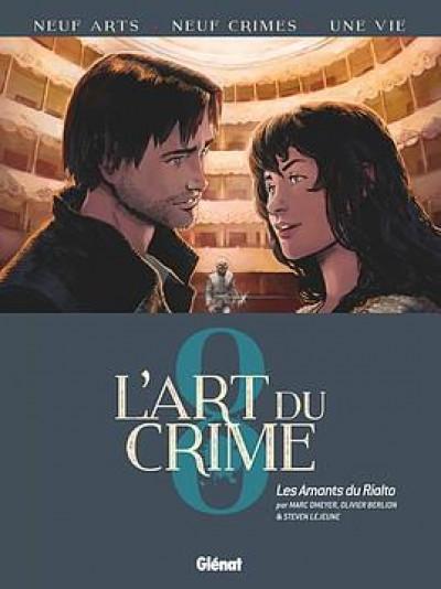 Couverture L'art du crime tome 8