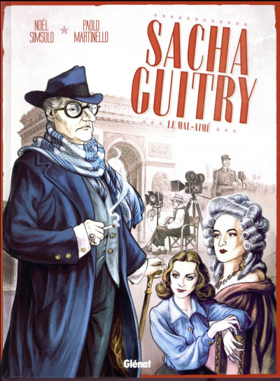Couverture Sacha Guitry tome 2