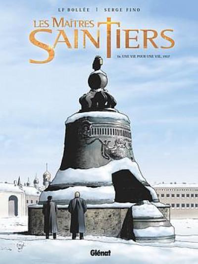 Couverture Les maîtres-saintiers tome 4