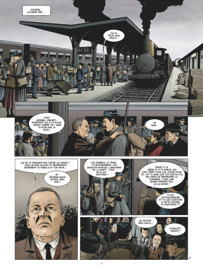 Page 1 Les maîtres-saintiers tome 4