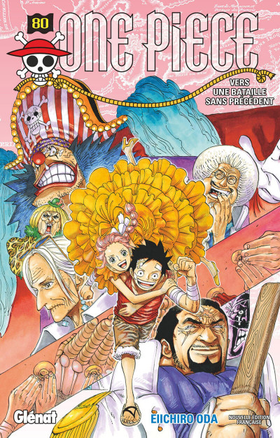 Couverture One piece tome 80