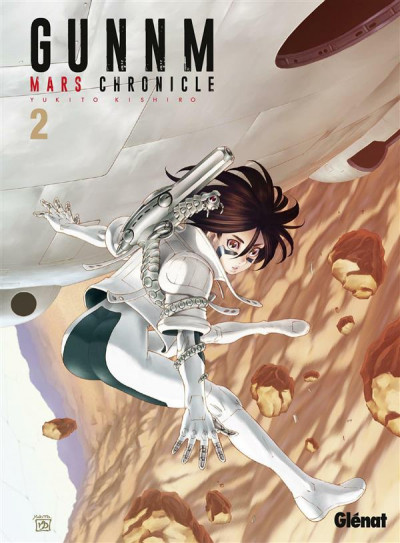 Couverture Gunnm - mars chronicle tome 2