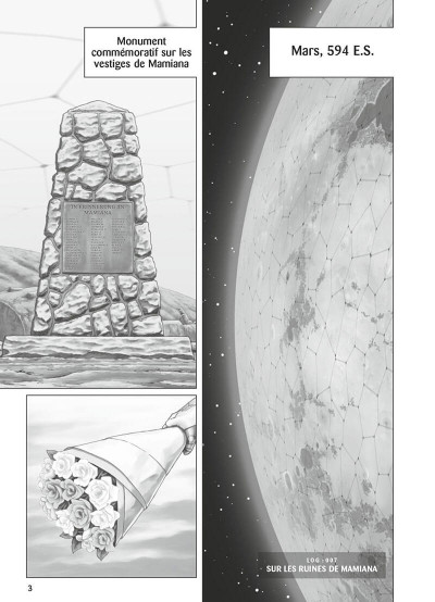 Page 4 Gunnm - mars chronicle tome 2
