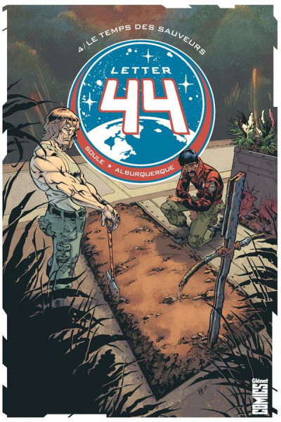 Couverture Letter 44 tome 4
