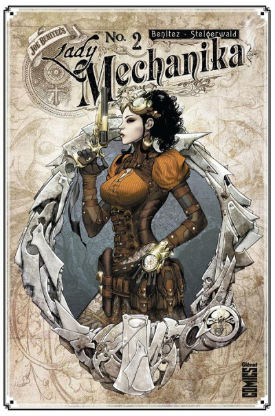 Couverture Lady mechanika tome 2