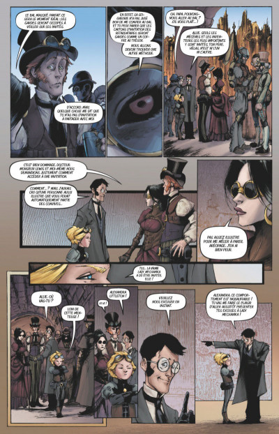 Page 3 Lady mechanika tome 2