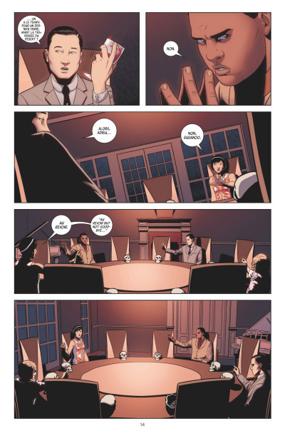 Page 4 The wicked + the divine tome 1