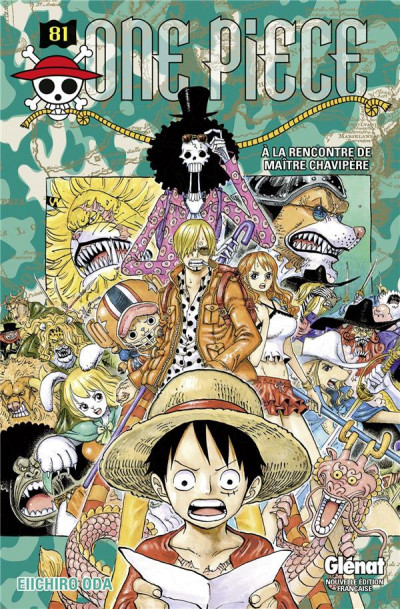 Couverture One piece tome 81