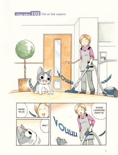 Page 1 Chi - Une vie de chat - grand format tome 12