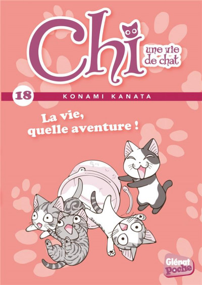 Couverture Chi - Une vie de chat - poche tome 18