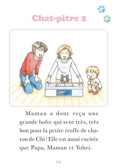 Page 0 Chi - Une vie de chat - poche tome 18
