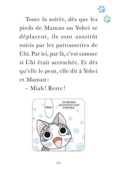 Page 8 Chi - Une vie de chat - poche tome 18