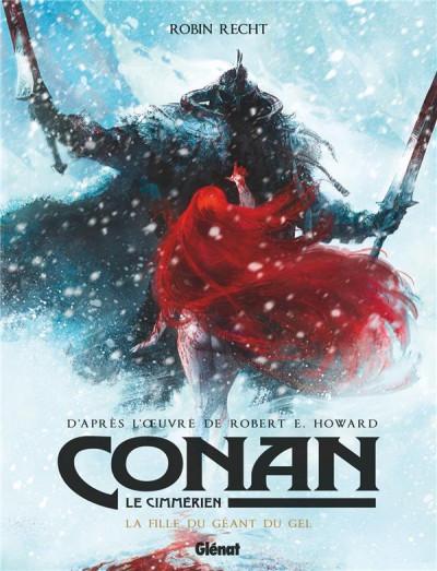 Couverture Conan le Cimmérien - La fille du géant du gel