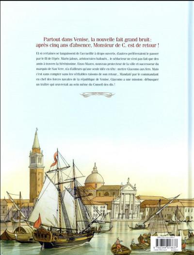 Dos Giacomo C. - retour à Venise tome 1
