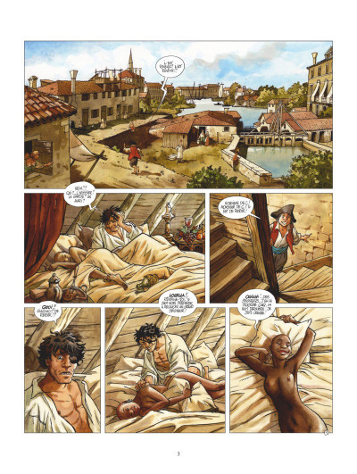 Page 1 Giacomo C. - retour à Venise tome 1