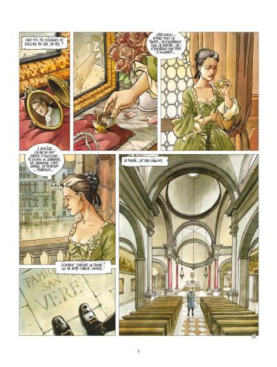 Page 3 Giacomo C. - retour à Venise tome 1