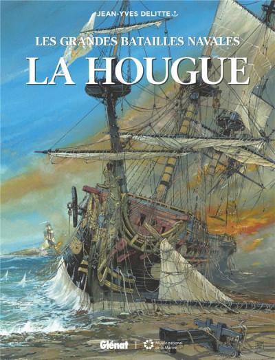 Couverture Les grandes batailles navales - La hougue