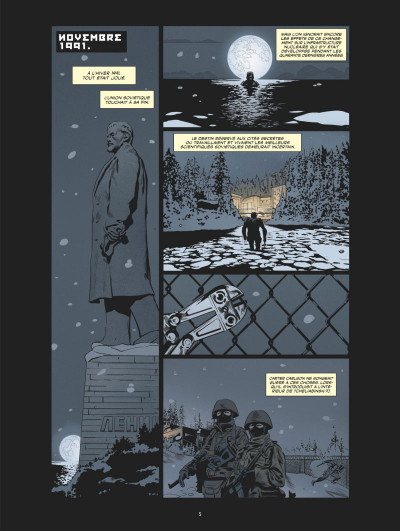 Page 1 Dead hand tome 1