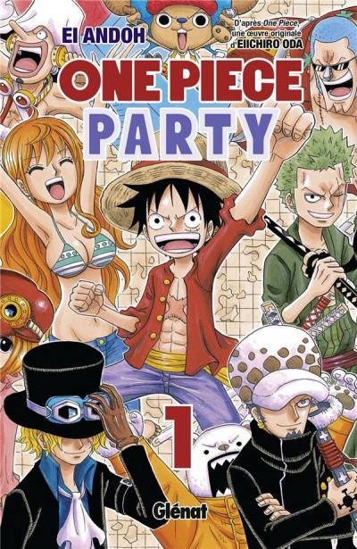 Couverture One Piece party tome 1