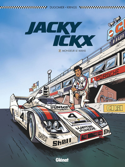 Couverture Jacky Ickx tome 2