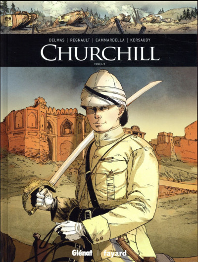 Couverture Churchill tome 1