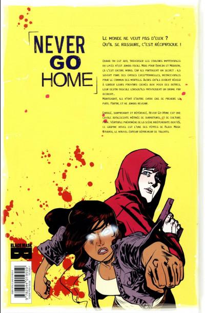 Dos Never go home tome 1